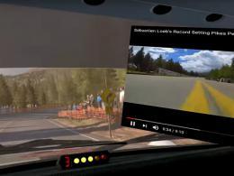 V - virtuális valóságon belüli desktop megjelenítés