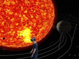 Csillagászat a virtuális valóságban - VR naprendszer és galaxisok
