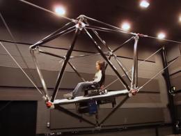 Kábel robot szimulátor - virtuális valóság  szimulátor egy új szintje