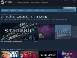 Virtuális valóság a Steamen - fizetős és ingyenes VR játékok, programok